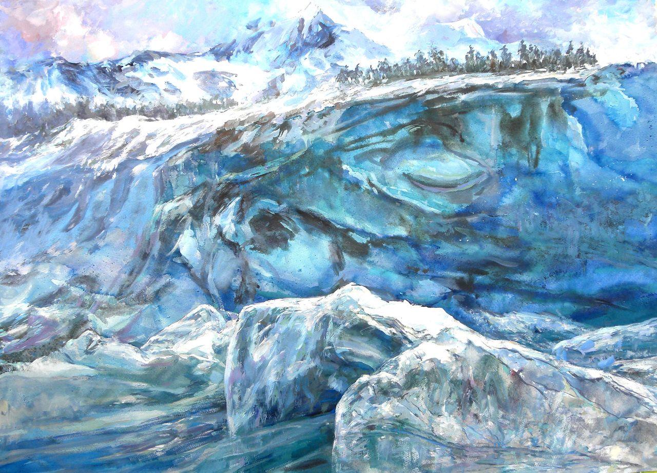 全國水彩展優秀獎,出版《蔣高儀抒情鄉土風景油畫》